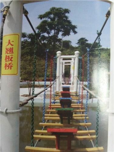 跨度大的吊桥是怎么安装的?
