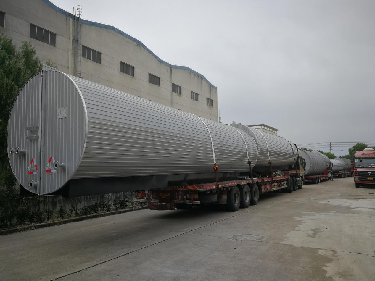 50T沥青罐运输