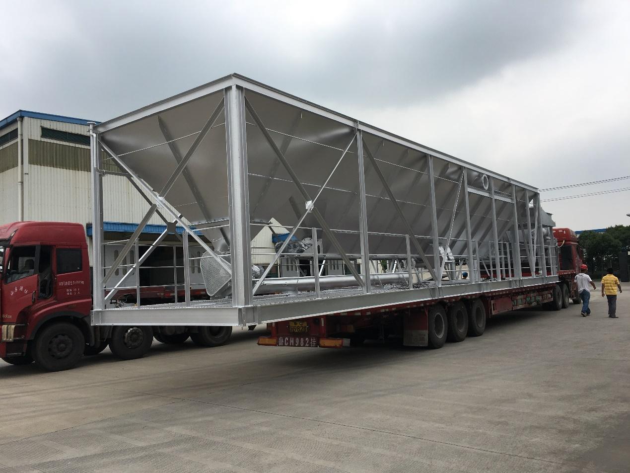 5000型沥青搅拌站除尘器运输