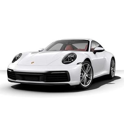 保时捷911 Carrera 细花白波尔多红
