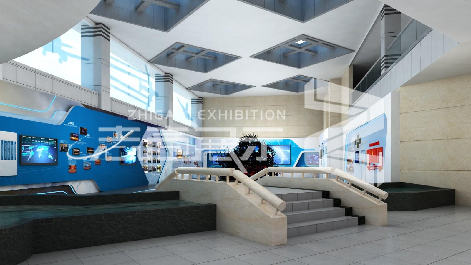 陕西西部机场展厅