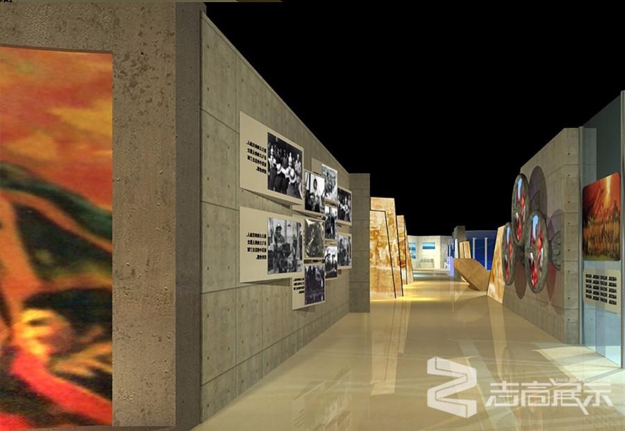 中國石油西南油氣田50周年活動成果展示廳