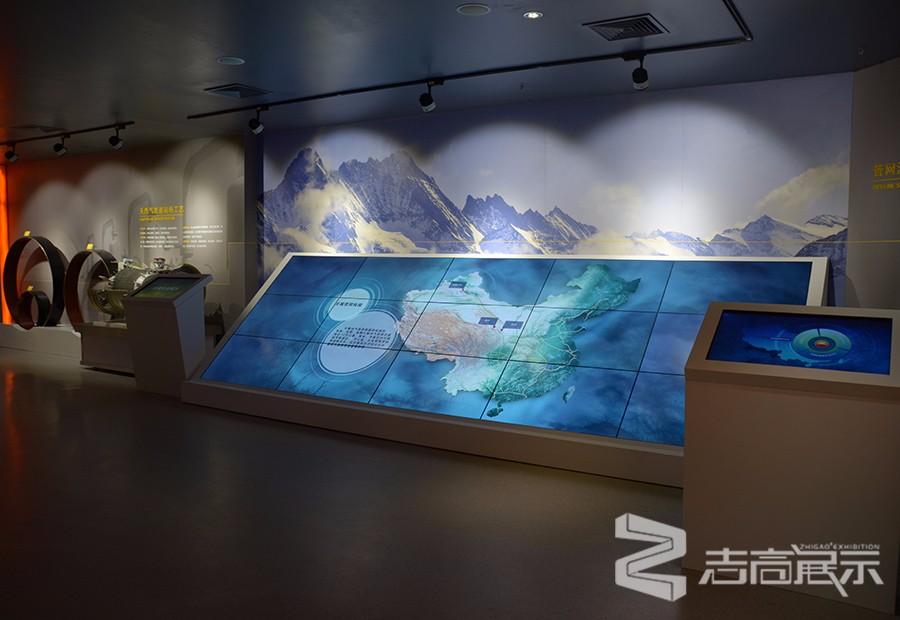 中國石油西部管道企業展廳