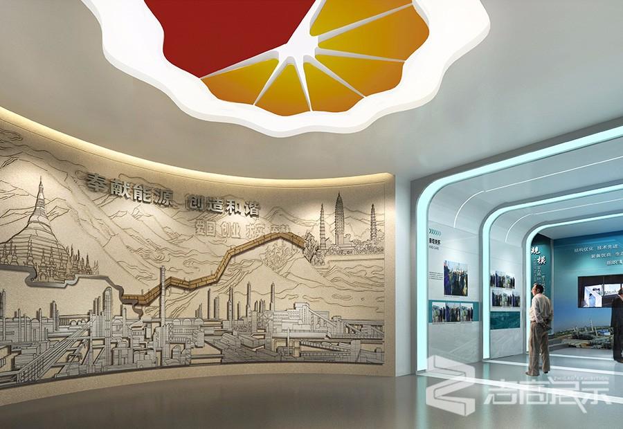 中國石油云南石化展廳