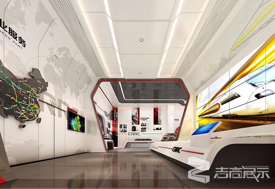 中國中車成都機車車輛有限公司企業展廳