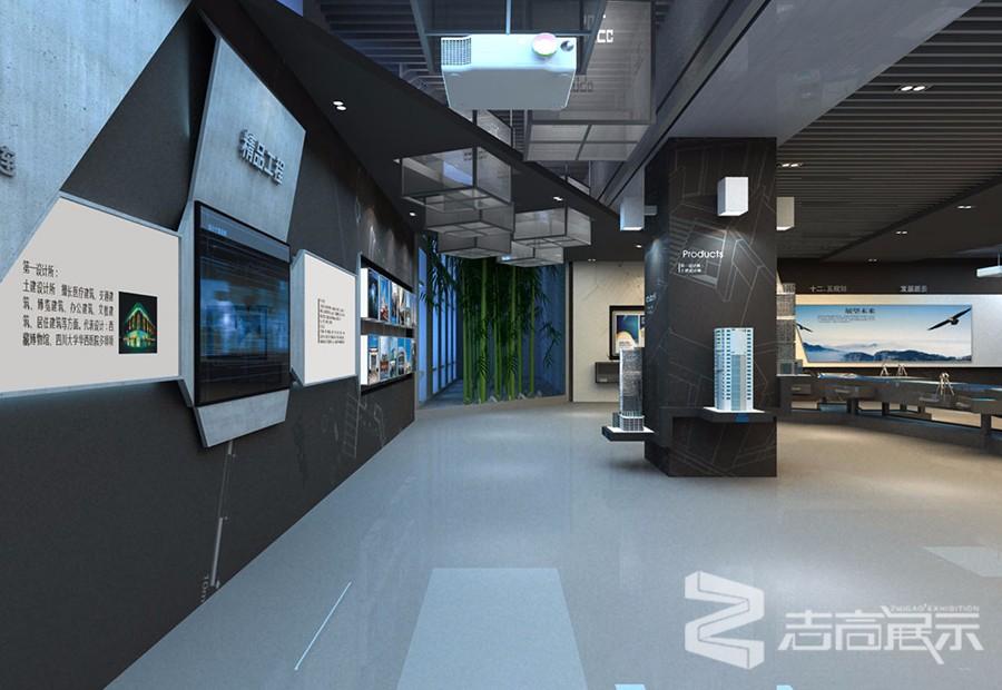 中建西南建筑設計院企業形象展廳
