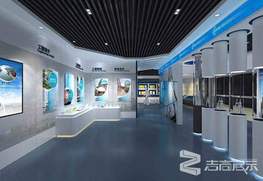 中國電建四川電力咨詢公司企業展廳