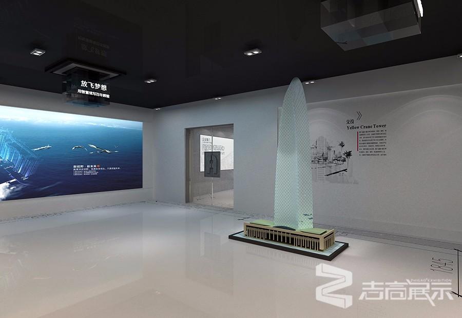 中國南建筑設計院企業形象展廳