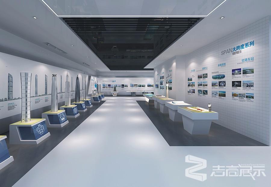 中建鋼構企業展廳