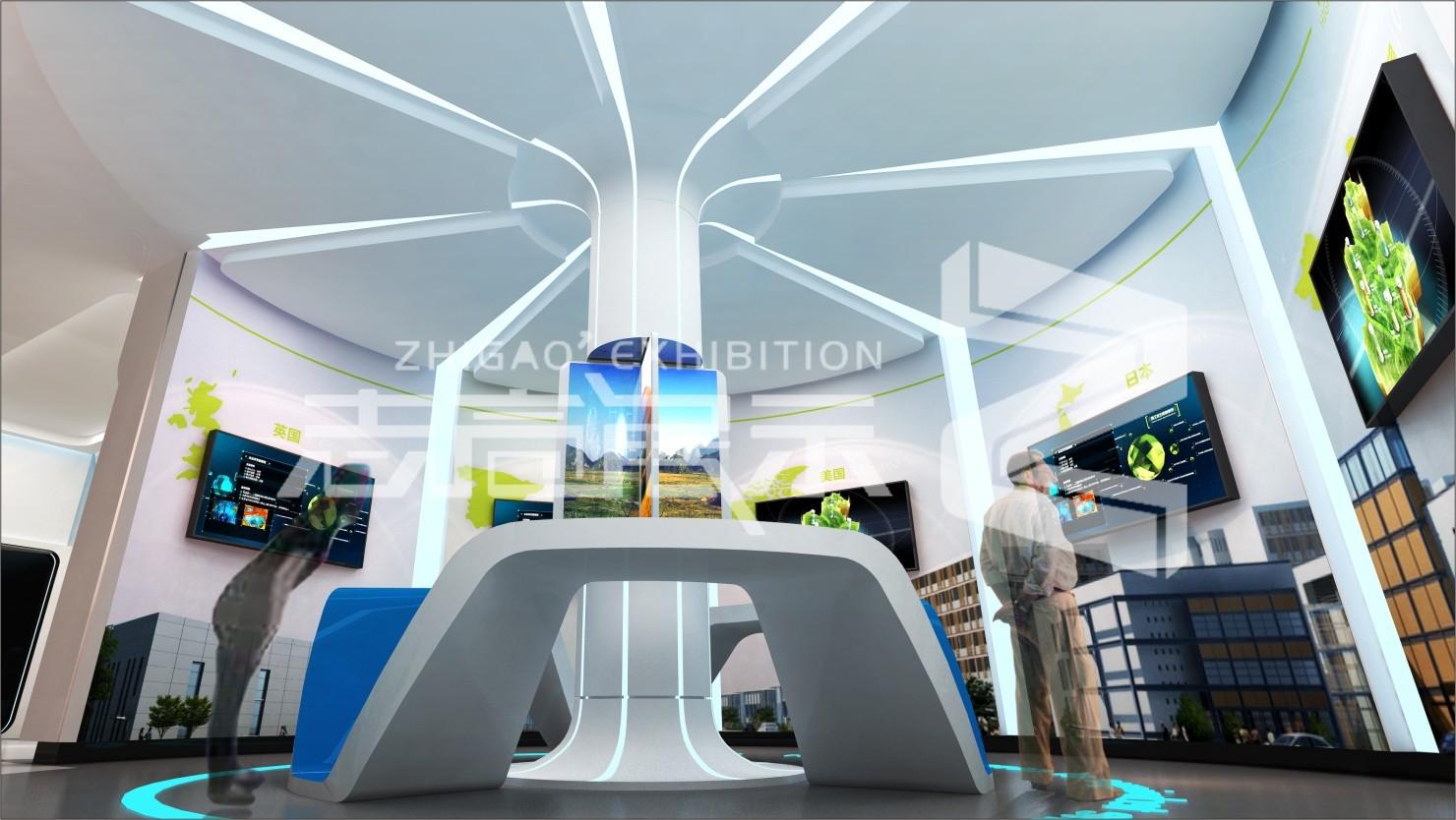 咸陽彩虹光電科技企業展廳