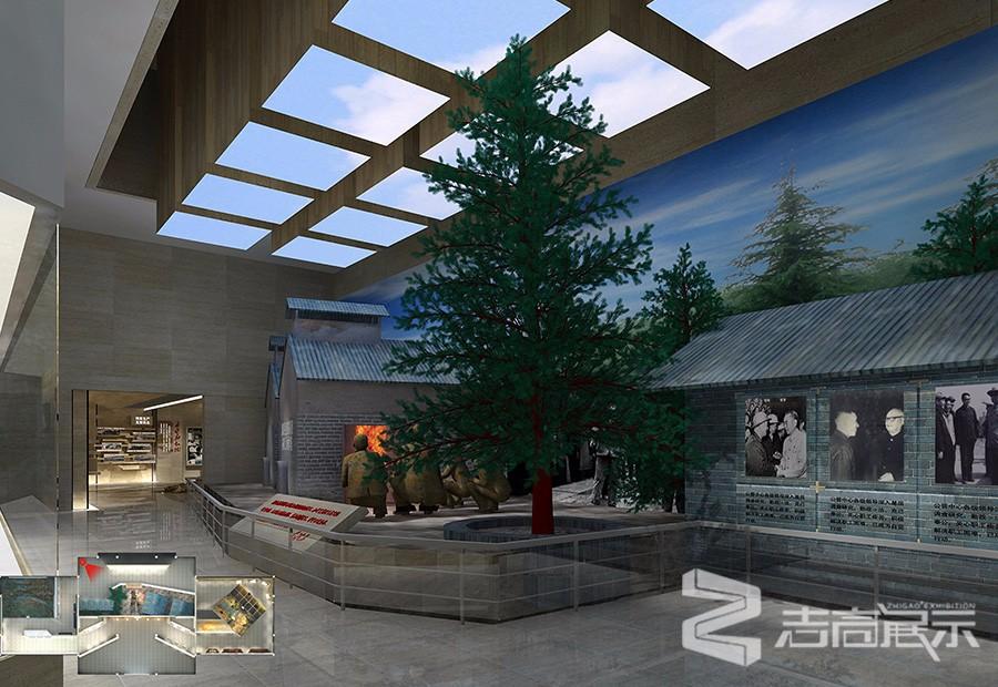 327視察隆昌氣礦紀念館