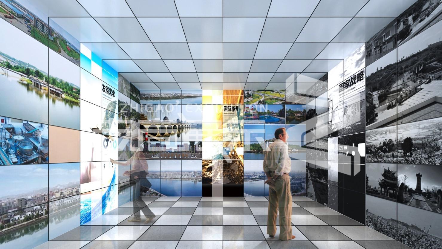 德阳金山军民融合展厅设计