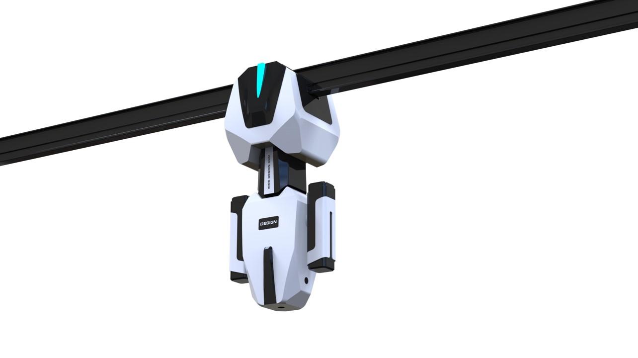 迪伦轨道巡检机器人