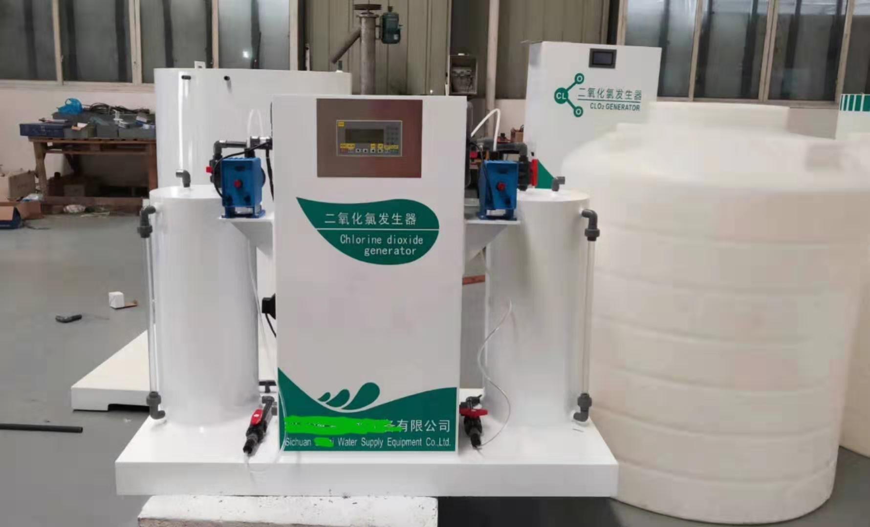 顿力达计量泵为二氧化氯发生器、次氯酸钠发生器制造厂家提供配套