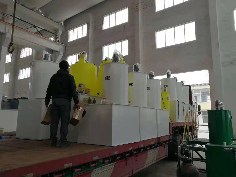 顿力达计量泵为诸多工程及环保公司提供配套及加药系统方案