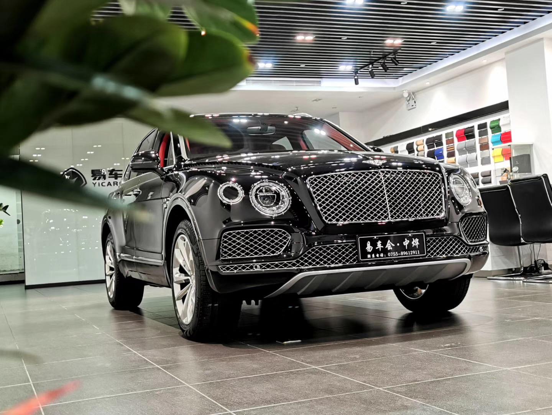 2020款新款宾利添越V8车价只要292万