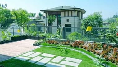 丽水水梦庭苑屋顶花园