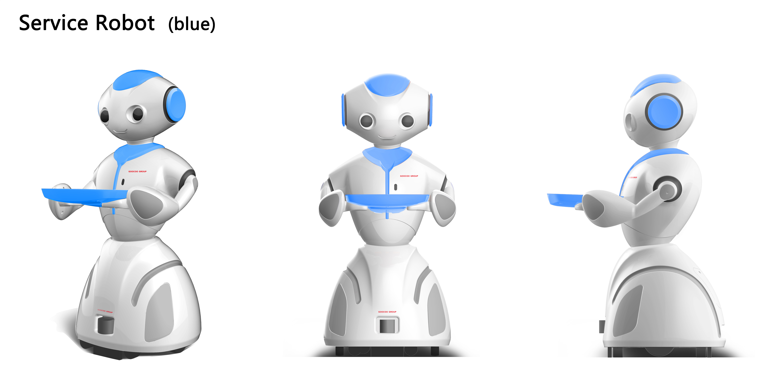 国购餐饮服务机器人