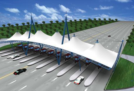 膜结构交通设施