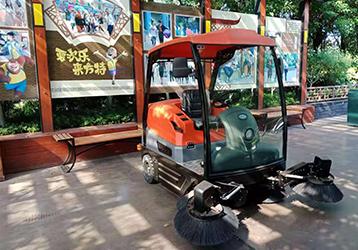 扫地车案例之方特乐园