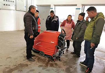 洗地机案例之农贸市场