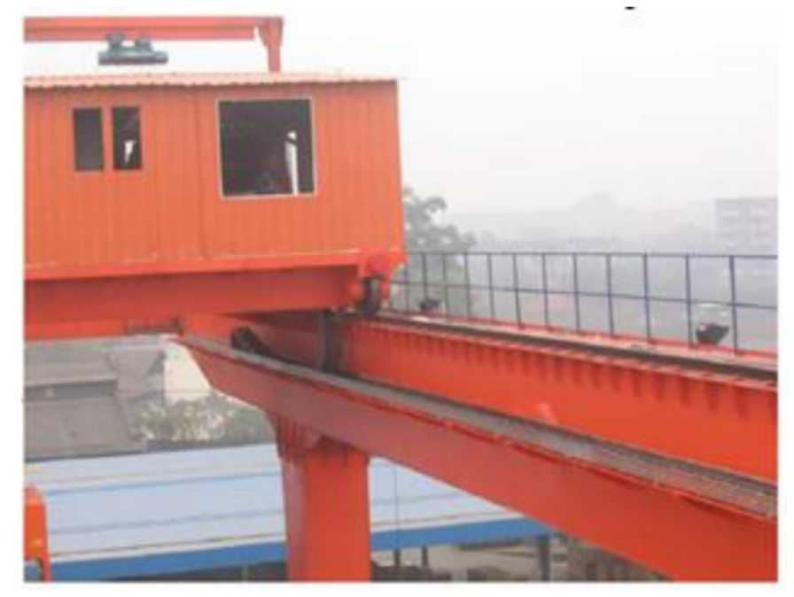 江西某铁路堆场货运站RMG