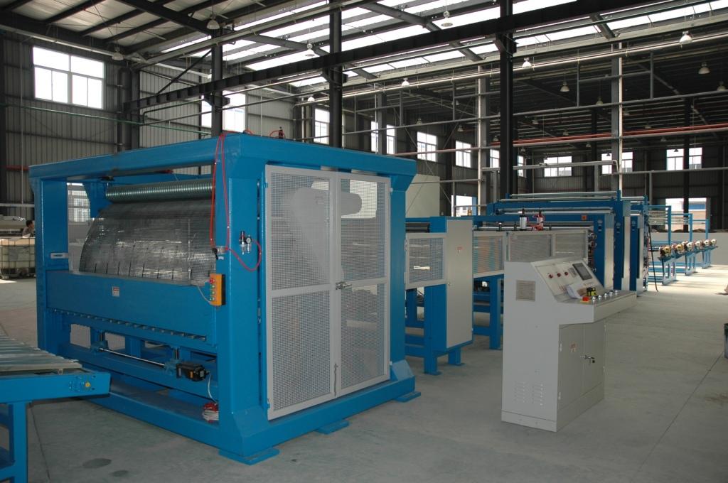 蜂窝纸芯生产线