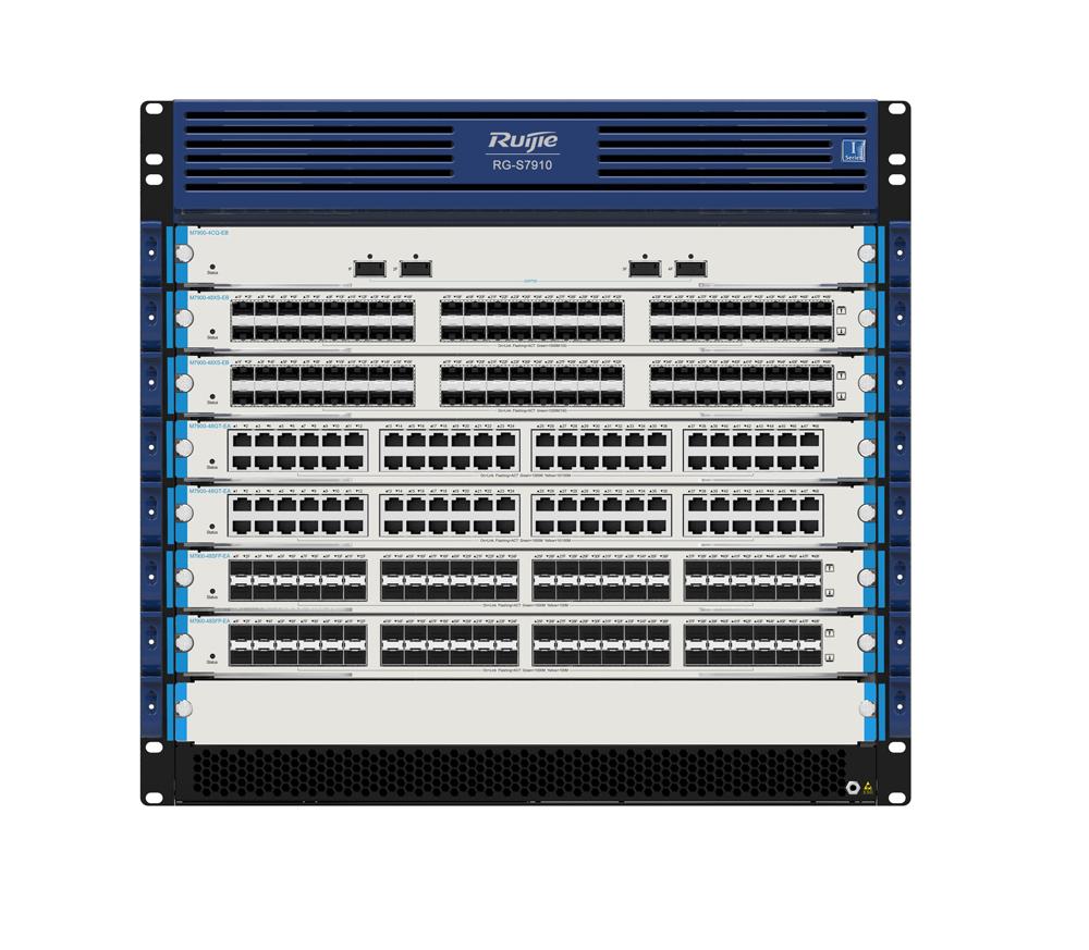 RG-S7910系列新一代城域网汇聚交换机
