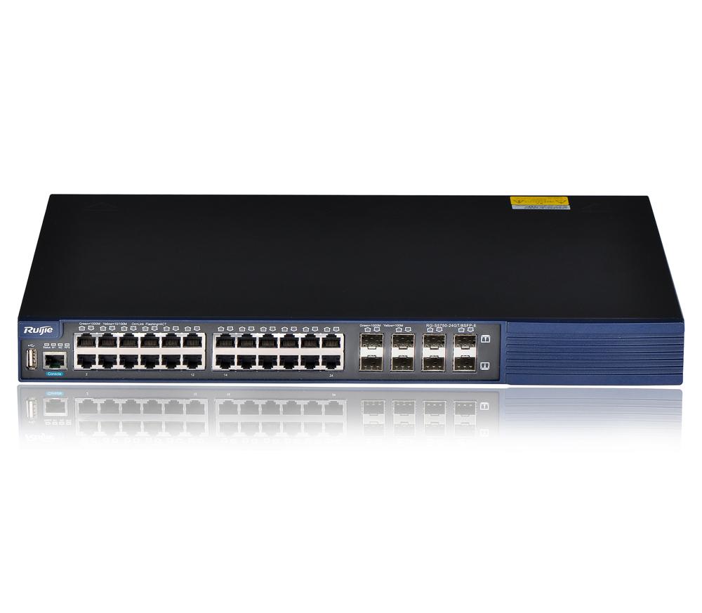 RG-S5750-E/P系列安 全多业务高性能万兆交换机