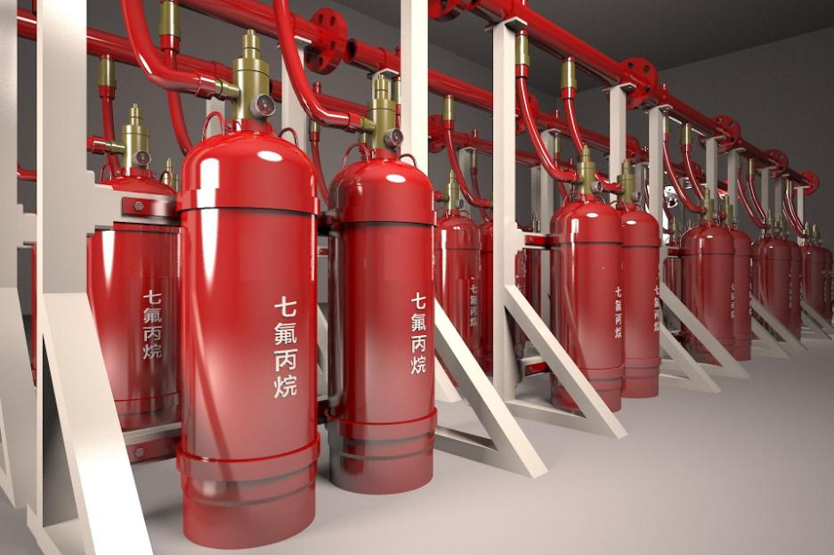 磐龙气体灭火七氟丙烷药剂高新机房灭火