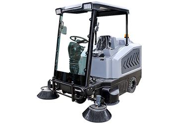 普力拓电动扫地机给你一个的保洁工作