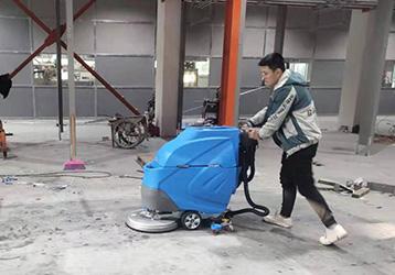 洗地机案例之豪派车业科技公司