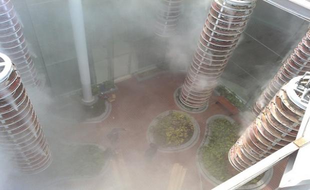 空中花园贝斯特全球最奢华网页降温加湿案例