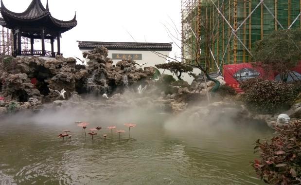 江苏德惠尚书府园林景观贝斯特全球最奢华网页雾案例