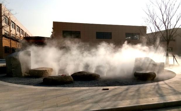 上海松江.工业园区.贝斯特全球最奢华网页雾案例
