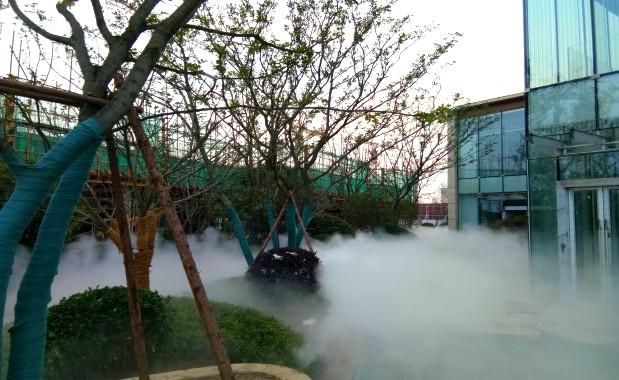 江苏新时代园林景观贝斯特全球最奢华网页雾案例