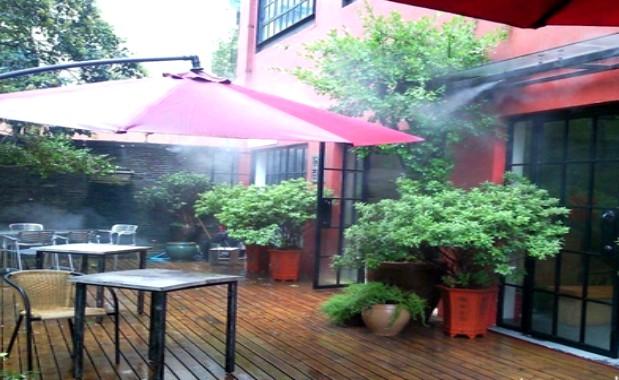 户外露天餐厅贝斯特全球最奢华网页降温案例