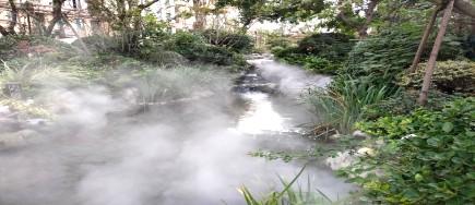 雾森系统让小区更宜居住