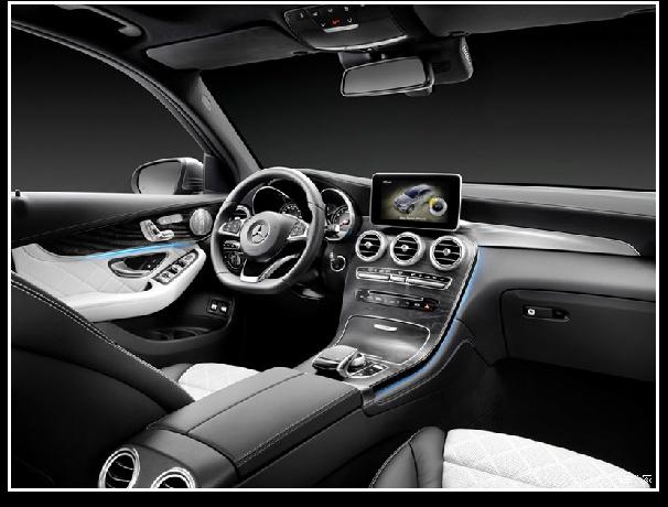 奔驰 GLC X253主门板自动包边设备