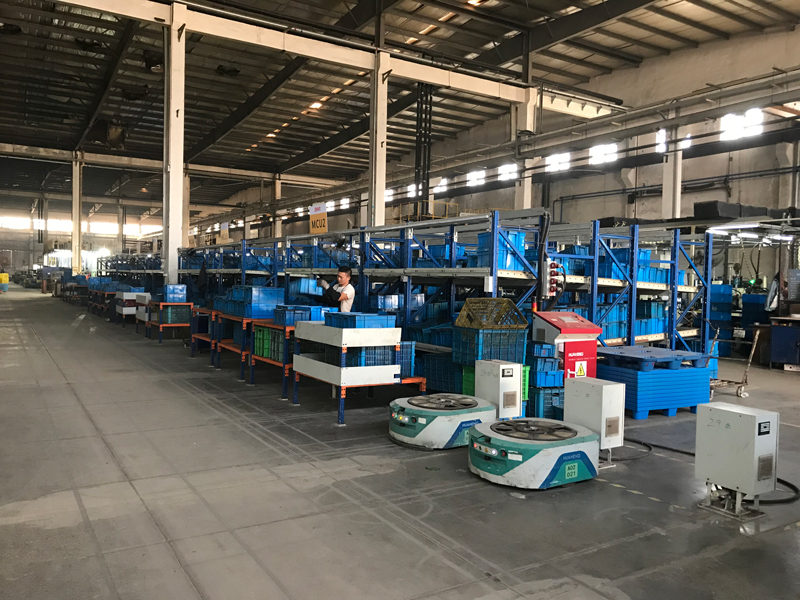 AGV在制造业物料运输方面优势显明显