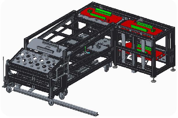 领克 CX11 智能分装线工位