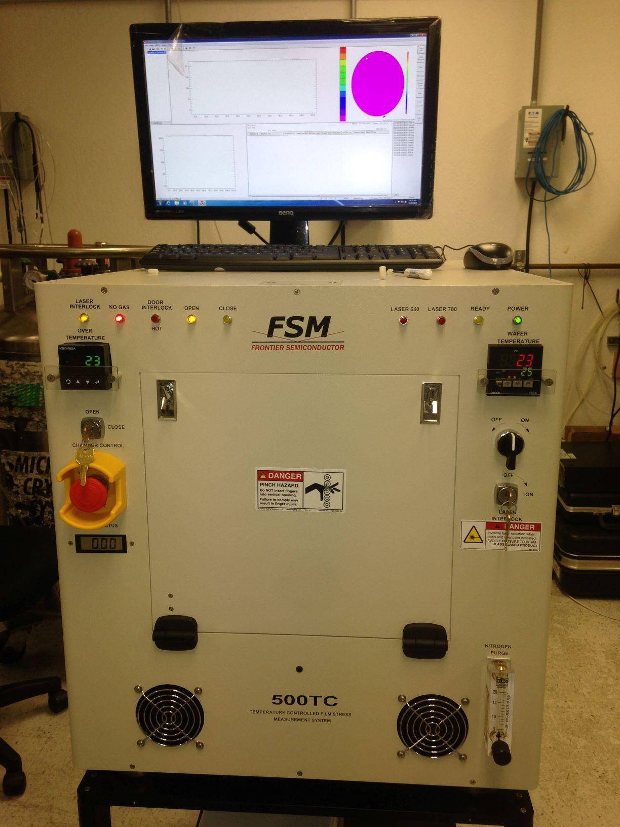 FSM薄膜应力仪,应力检测仪,高温下测量薄膜应力