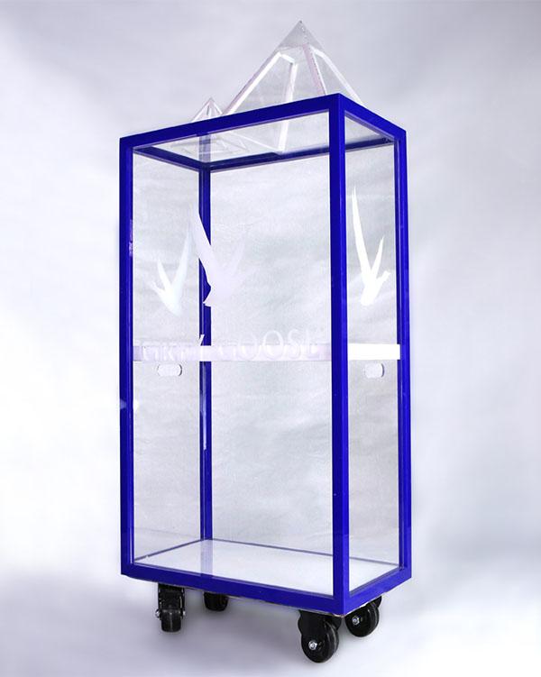 透明产品展示柜