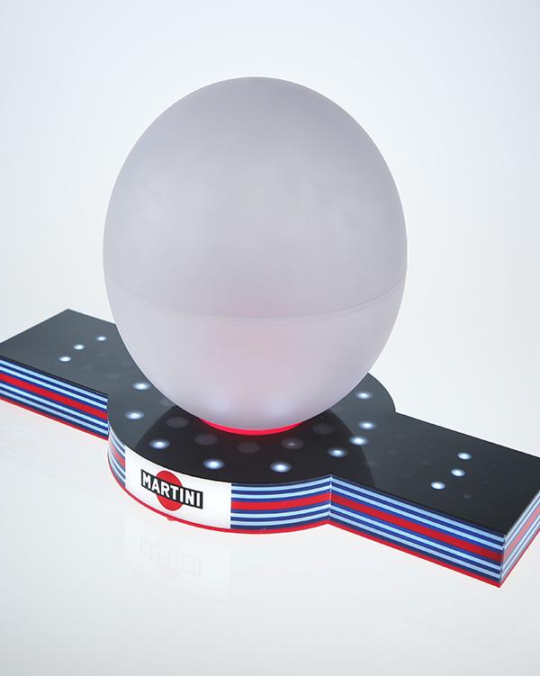 亚克力球形发光道具