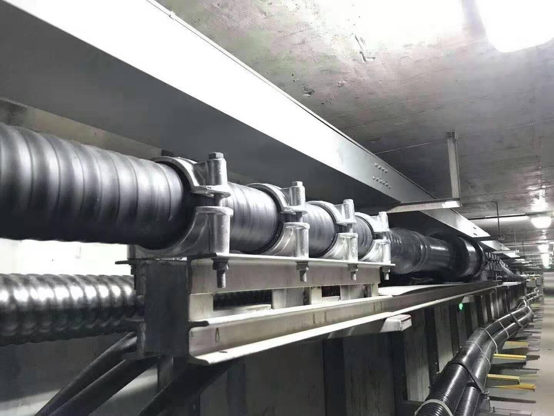 高压电力仓支架安装现场.jpg