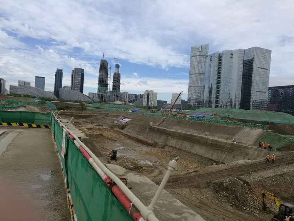 天府新区兴隆148管廊中建二局-成都哈芬科技