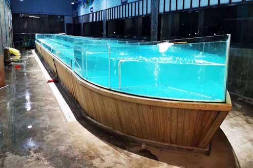 隔断式海鲜池