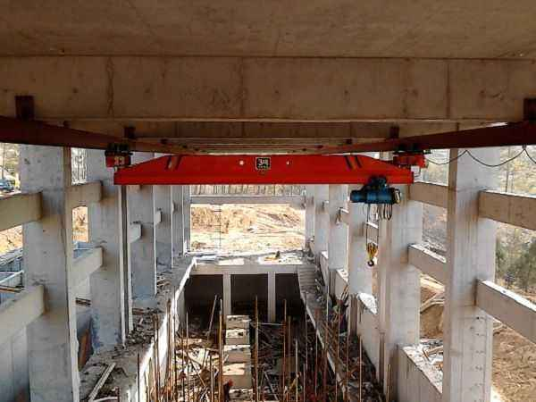 单梁悬挂起重机高空作业的安全知识