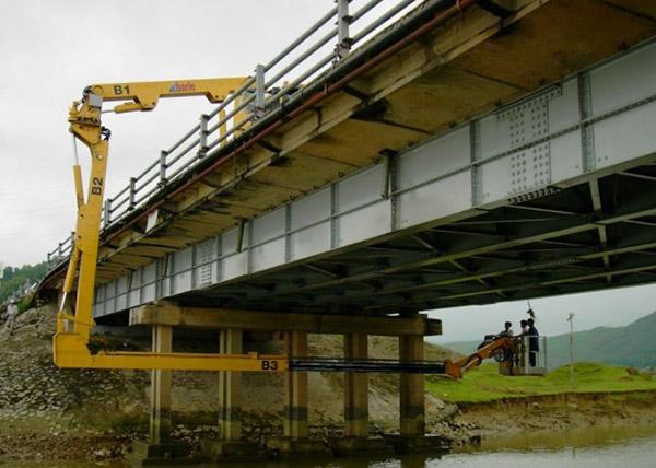 某多跨简支梁桥承载力检测分析