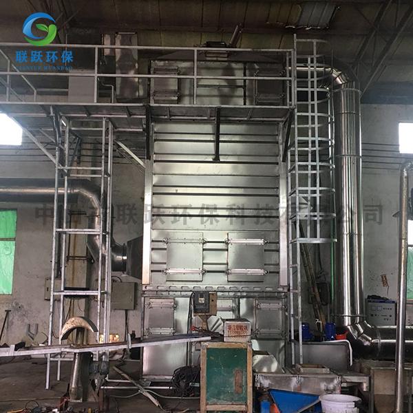 阜沙塑料造粒厂1万风量湿电